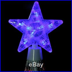 12' Animated LED Lighted Multi Color SHOW CONE Tree Outdoor Christmas Yard Decor