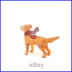 Christmas Decoration Golden Retriever Led Fuzzy 48 In