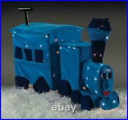 Classic Rudolph Misfit Toy TRAIN Pre Lit Tinsel Christmas Yard Decor Sculpture