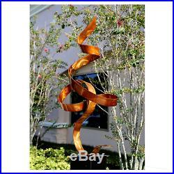 Copper Outdoor Sculpture Modern Metal Art Garden Yard Decor Original Jon Allen