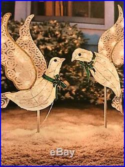 Doves Christmas Indoor Outdoor Yard Decor (2-set)