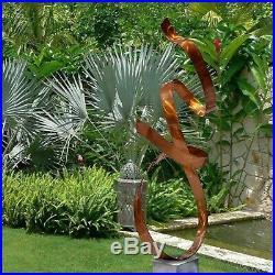 Extra Large Metal Sculpture Modern Abstract Copper Garden Yard Decor Jon Allen