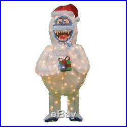 Festive Christmas Pre-Lit Rudolph 3D LED Bumble 60 In. Tall Holiday Yard Decor