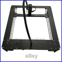 Full Metal 25X25cm 1000mW DIY Mini Laser Engraving Machine Carving CNC Printer