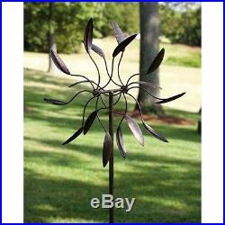 Garden Statues And Sculptures Spinning Metal Yard Art