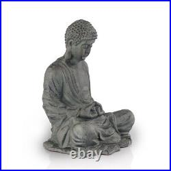 Garden Buddha Statue Sculpture Zen Patio Lawn Yard Art Metal SPI Home 53039