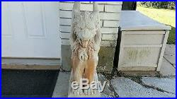 Gargoyle Garden Sculptures Home Decor Statue Figure Lawn Yard Outdoor Patio  ART
