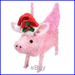 Holiday Time Flying Pig Yard Décor Light Up Piggy Christmas Decoration