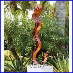 Jon Allen Modern Metal Garden Sculpture Yard Art Indoor Outdoor Table Decor