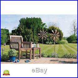 Kinetic Sculpture Wind Garden Spinners Metal Outdoor Spinner Catcher Decor Yard