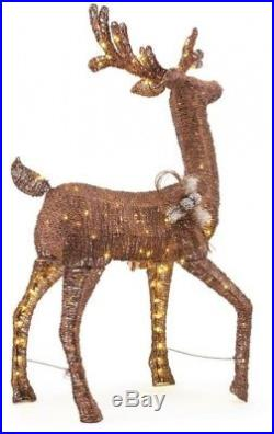 Led Animated Pvc Deer Christmas Yard Decorations Indoor