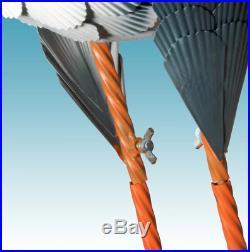Life Size Garden Crane Sculpture Lawn Ornament Yard Art Realistic Metal Bird LG