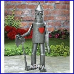 Metal Tin Man Yard Art Garden Statue Sculpture Outdoor Lawn Patio Home Decor NEW