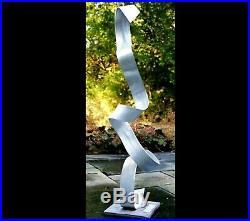 Modern Abstract Outdoor Indoor Metal Industrial Sculpture Garden Lawn Yard Art