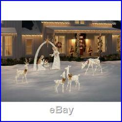 Nativity Scene Giant Christmas Yard Lighted Indoor Outdoor Garden Decor Holiday