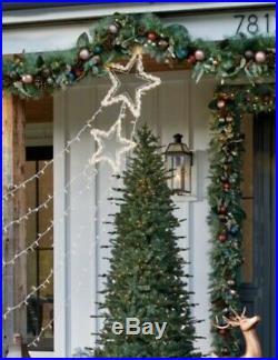 New Lighted Shooting Star Display Outdoor Christmas Decor Yard Art