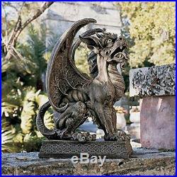 Outdoor Argos Gargoyle Sentinel Sculpture Patio Garden Yard Statue gothic stone