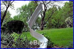 Outdoor Indoor Metal Abstract Modern Industrial Sculpture Garden Lawn Yard Art