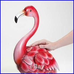 Pink Flamingo Garden Statues Lawn Decor Yard Durable Home Decorative Sculptures