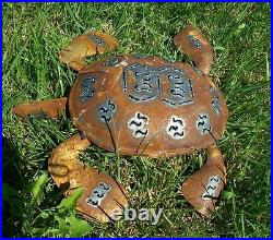 Rusty Metal Turtle Yard Art and Garden Decor Choose from 3 Sizes