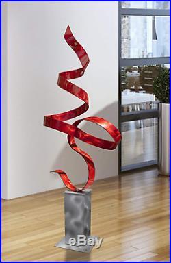 Statements2000 48 Large Metal Yard Sculpture, Indoor-Outdoor Garden Statue By J