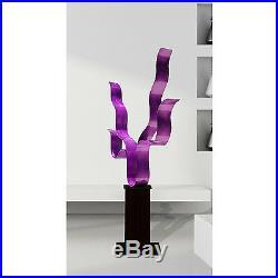 Statements2000 Metal Sculpture Large Abstract Purple Yard Art Decor by Jon Allen