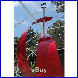 Statements2000 Metal Sculpture Red Abstract Home Garden Yard Decor by Jon Allen