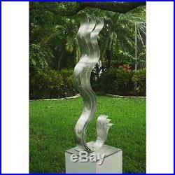 Statements2000 Modern Metal Garden Sculpture Yard Art Table Decor by Jon Allen