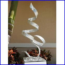 Statements2000 Modern Metal Sculpture Yard Art Centerpiece Table Decor Jon Allen