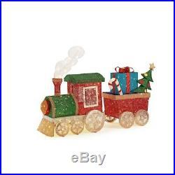 String Train Set LED Lighted Mesh Christmas Yard Decoration Novelty 48 in