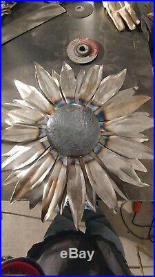 Sunflower Metal Yard Sculpture