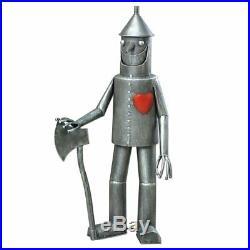 Tin Man Yard Art Wizard of Oz Out Door Metal Garden Sculpture Patio Statue Decor