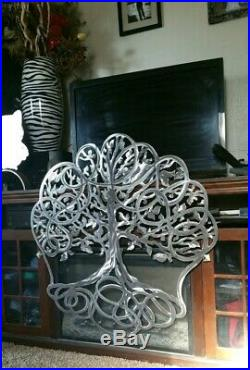 Tree of Life Metal Wall Art Hanging Garden and yard art Sculptures 34 inches