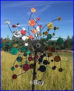 Wind Spinner Kinetic Sculpture Outdoor Windmill Yard Garden Decor 72 x 24 Inches